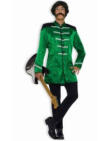 Disfraz verde de estrella del rock n roll británica