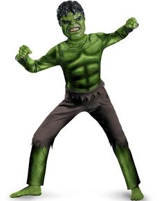 Disfraz de Hulk Los vengadores classic para niño