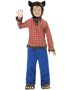 Disfraz de niño lobo infantil