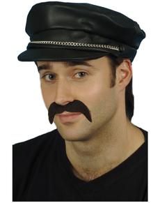 Gorra de motero