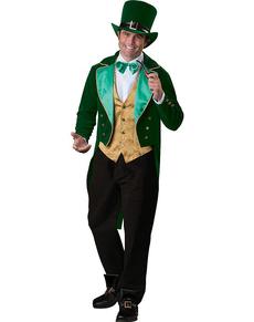 Disfraz de leprechaun de la suerte