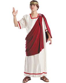 Disfraz de senador romano