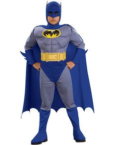 Disfraz de Batman the Brave and the Bold musculoso niño