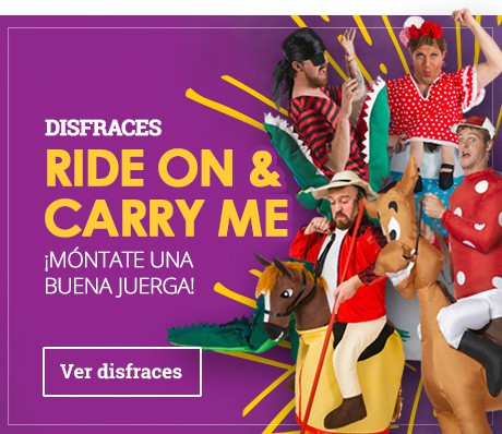 Disfraces Ride On & Carry Me
