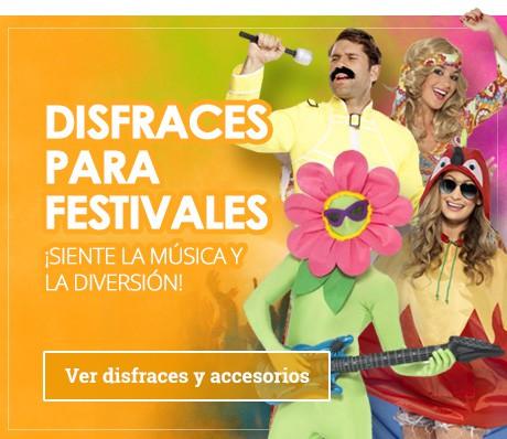 Disfraces y Accesorios para festivales
