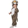 Disfraz de tigre salvaje infantil