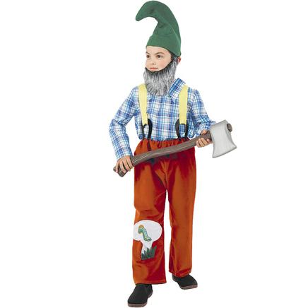 Disfraz de Gnomo granjero niño