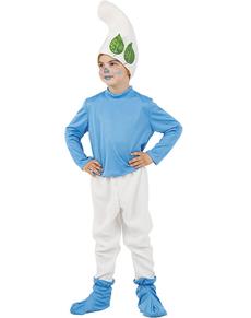 Disfraz de Enanito azul del bosque niño