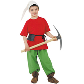 Disfraz de Enanito del bosque niño
