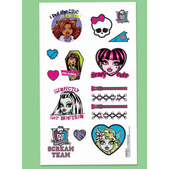 Tattoos Monster High