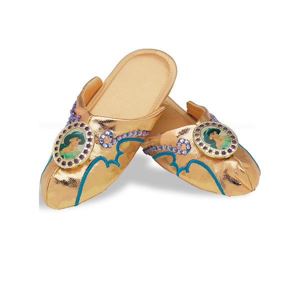 Disfraz de la princesa Jasmine de Aladdin con patrones |