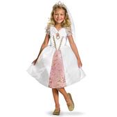 Disfraz de Rapunzel boda para niña