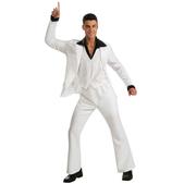 Disfraz de Fiebre del Sábado Noche traje blanco