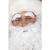 Cejas blancas Papá Noel
