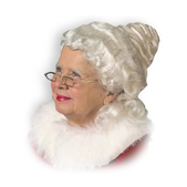 Perruque grand-mère haut de gamme