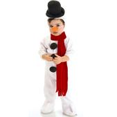 Disfraz de Muñeco de Nieve Snowman Bebé