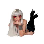 Piezas decorativas para ojos de Lady Gaga