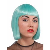 Peluca azul turquesa de Lady Gaga