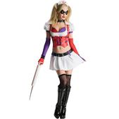 Disfraz de Harley Quinn Arkham City Asylum para  mujer