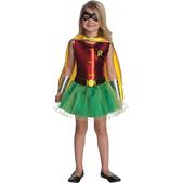 Disfraz de Robin Batman para niña