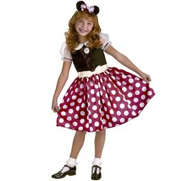 Disfraz de Minnie Mouse para niña