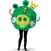 Fato de Angry Birds King Pig Adulto