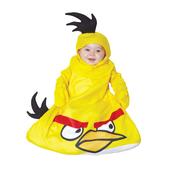 Fato de Angry Birds Amarelo saquinho para bebé
