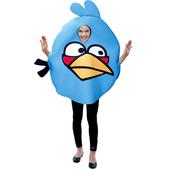 Fato de Angry Birds Azul Infantil