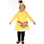Fato de Angry Birds Amarelo Infantil