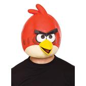 Máscara de Angry Birds Vermelho de látex Adulto