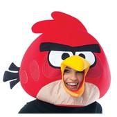 Máscara de Angry Birds Vermelho Deluxe Adulto