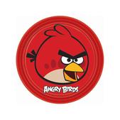 Conjunto de pratos Angry Birds
