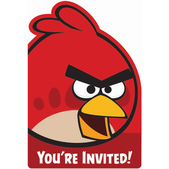 Convites festa Angry Birds