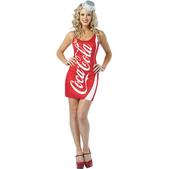 Disfraz de Lata Coca-Cola para mujer