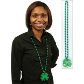 Collar luminoso con trébol Saint Patrick's Day
