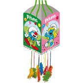 Piñata Fiesta Los Pitufos