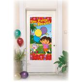 Cartel para la puerta Dora la Exploradora