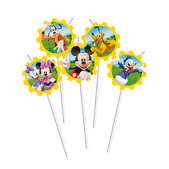 Set de pajitas Mickey Mouse