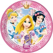 Set de platos grandes Disney Princesas Luxury