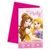 Set de invitaciones Disney Princesas Luxury