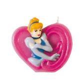 Vela número 9 Cenicienta Disney Princesas