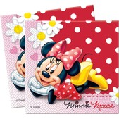 Set de servilletas Minnie Mouse
