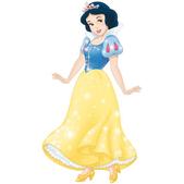 Figura de cartón articulada Blancanieves
