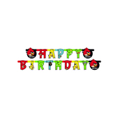 Guirnalda Happy Birthday Angry Birds