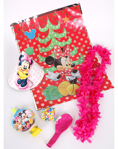 Set de bolsas de cotillón de Minnie Mouse