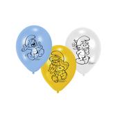 Set de globos Los Pitufos