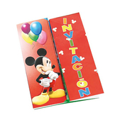 Set de invitaciones Mickey Mouse Clubhouse