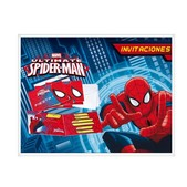 Set de invitaciones Ultimate Spiderman