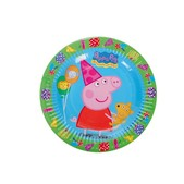 Set de platos de postre Peppa Pig