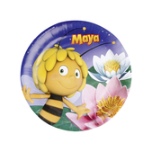 Lot assiettes grand format Maya l'abeille